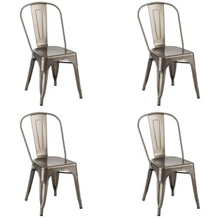 17 Stories Bunny Dining Chair (Set of 4)