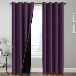 Rideaux et draperies: Couleur - Violet | Wayfair.ca