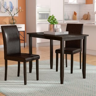 Baillie 3 Piece Dining Set Latitude Run