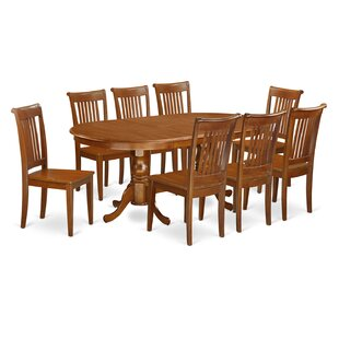 Germantown 9 Piece Extendable Dining Set by DarHome Co #1