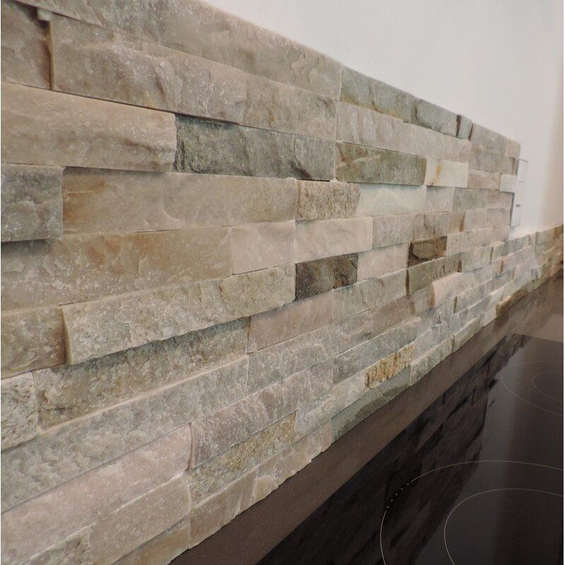 Stone Design Canyon Random Sized 16 X 7 Natural Stone Subway Tile