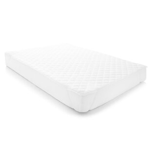 Quilted Waterproof Polyester Mattress Pad