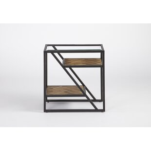 Kit End Table by 17 Stories