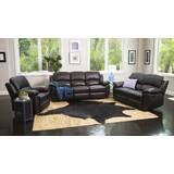 Veazey Reclining 3 Piece Leather Living Room Set by Darby Home Co