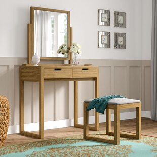 Clendon 2 Drawer Dressing Table By Ebern Designs