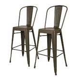 Lissa 30 Bar Stool (Set of 2) by Williston Forge