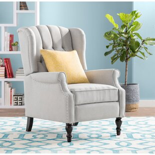 Albertine Manual Recliner By Three Posts