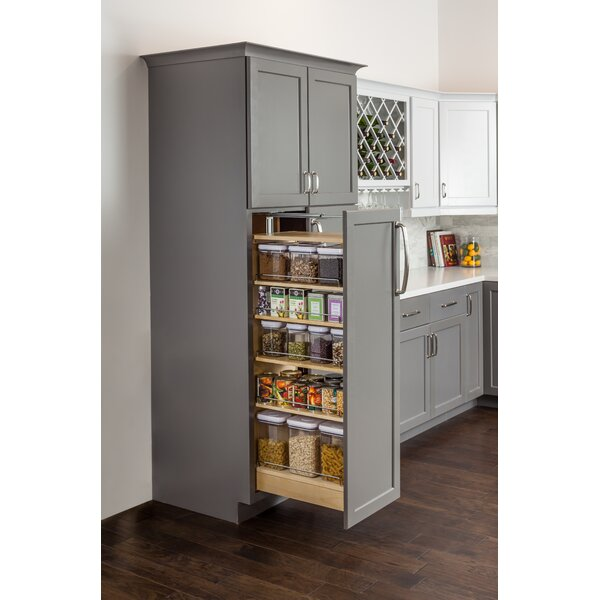 Hardware Resources Wood Cabinet Pull Out Pantry Wayfair