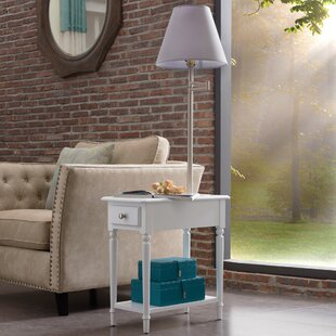 Yonker Chairside End Table with Storage