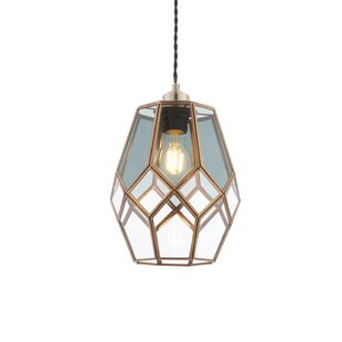 Ripley 19cm Gl Oval Pendant Shade By Endon Lighting