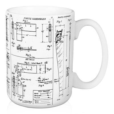 Williston forge mcduffy blueprint coffee mug wayfair mcduffy blueprint coffee mug malvernweather Images