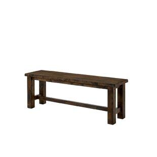 Oriole Wood Bench by Loon Peak