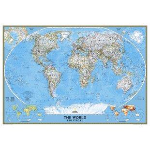 mural world map