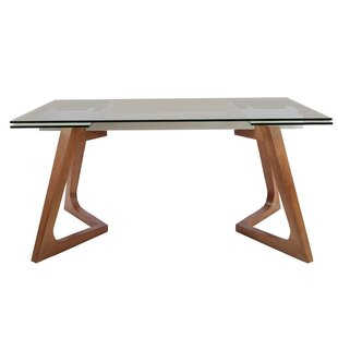 Cheek Extendable Dining Table Brayden Studio