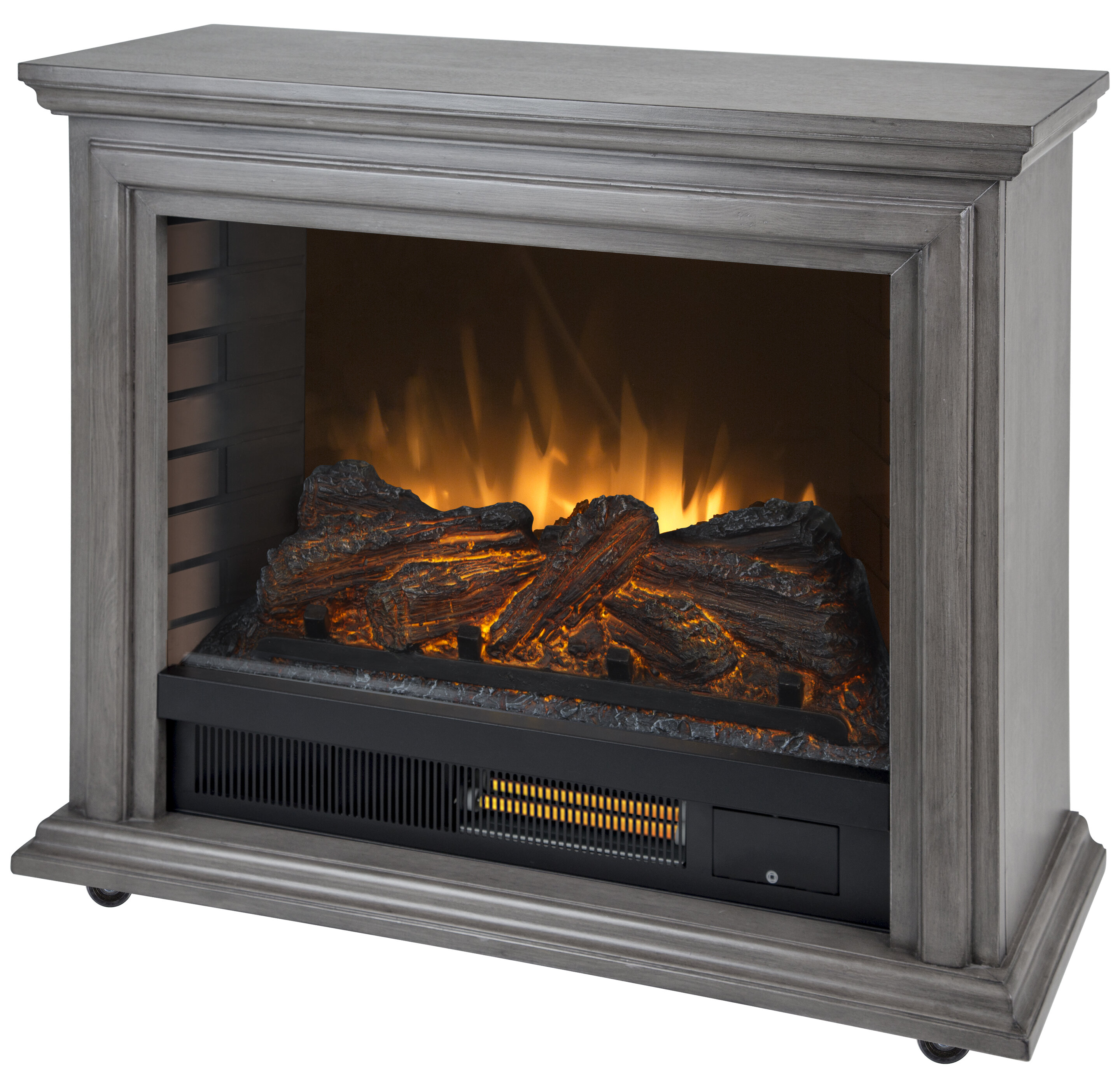 Charlton Home Mashpee Electric Fireplace Reviews Wayfair