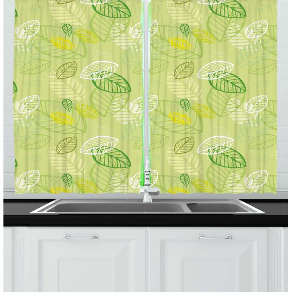 Yellow Curtains For Kitchen
