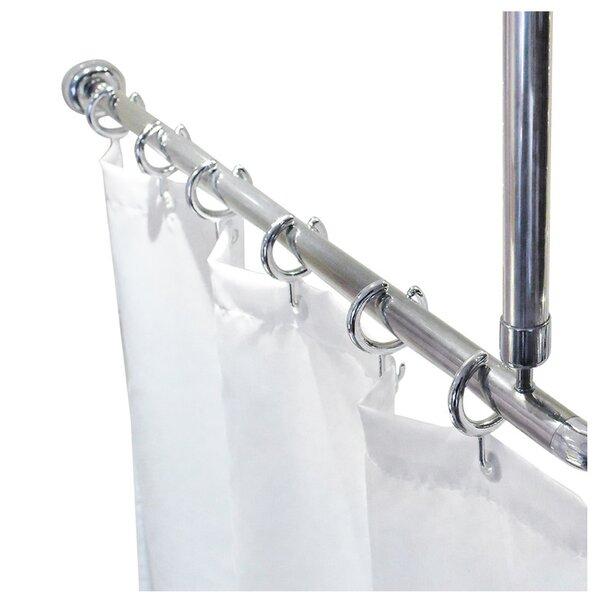 Shower Curtain Rails & Rings   Wayfair.co.uk