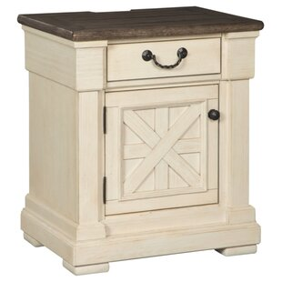 Lark Manor Alsace 1 Drawer Night Stand