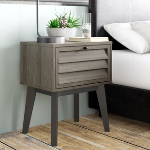Dover 1 Drawer Bedside Table By Borough Wharf