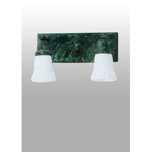 Meyda Tiffany Revival Oyster Bay Embossed 2-Light Vanity Light