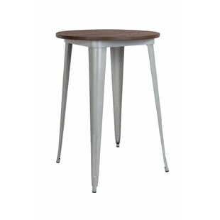 Lela Round Metal Indoor Pub Table
