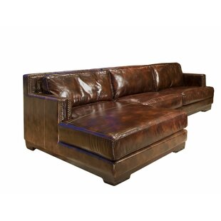Davis Leather Sectional