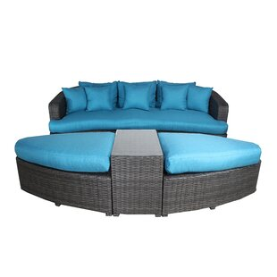 Rippy 4 Piece Sofa Set with Cushions