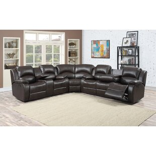 Find for Samara Reclining Sectional by AC Pacific Reviews (2019) & Buyer's Guide