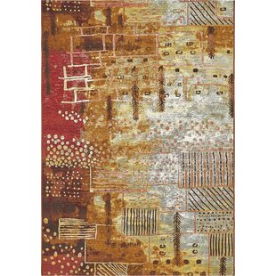 Jamie Orange Indoor/Outdoor Area Rug