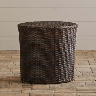 Mazzella Wicker/Rattan Side Table by Mercury Row