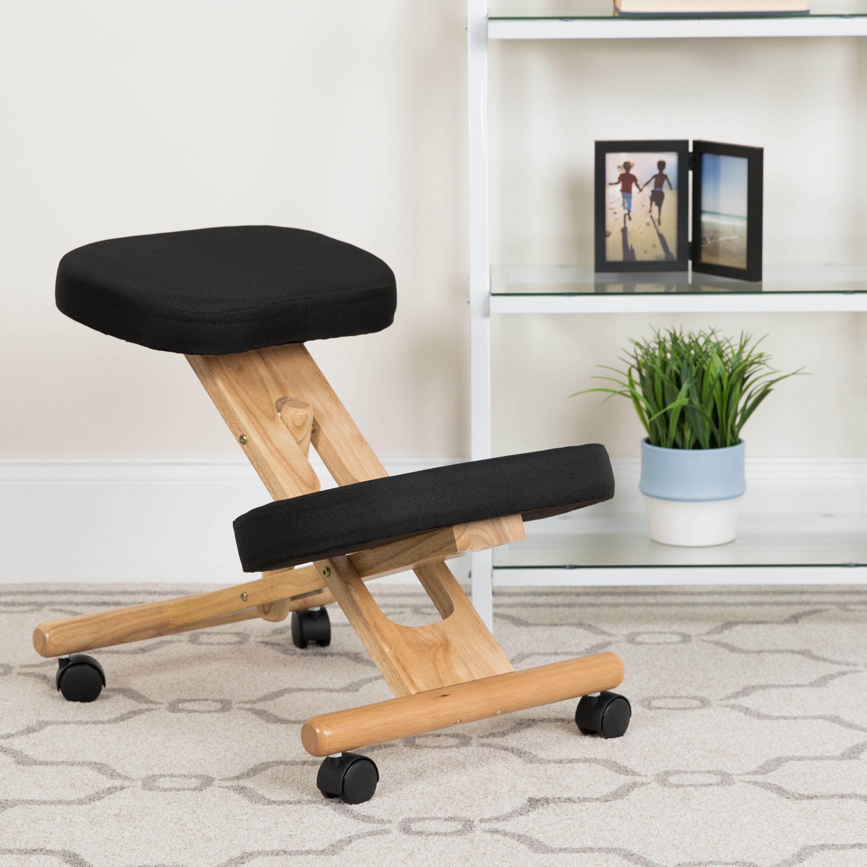Symple Stuff Wolfson Height Adjustable Kneeling Chair Reviews Wayfair