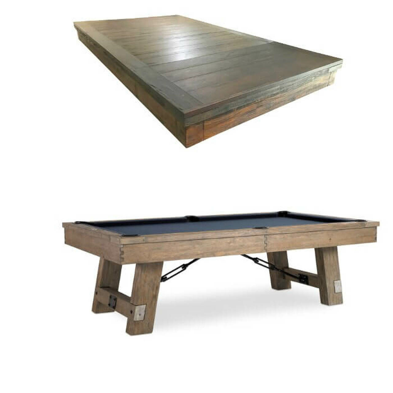 Plank Hide Isaac Rotating Game Table With Professional Installation Included Wayfair