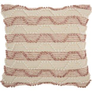 Ellijay Bohemian Textured Throw Pillow