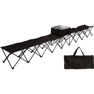 Mardell 8-Seater Folding Camping Bench by Freeport Park