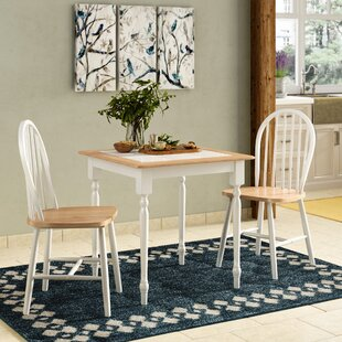 Llanas 3 Piece Dining Set August Grove