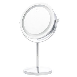 Escobar LED LT Touch Dimmer Makeup/Shaving Mirror Rebrilliant