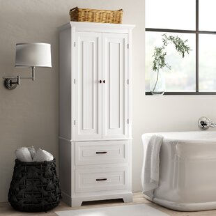 Bathroom Corner Linen Cabinet Wayfair