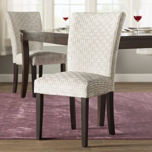 Sture Link Print Upholstered Dining Chair..