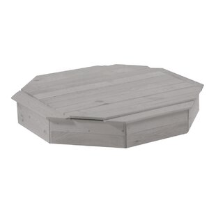 131cm Octagonal Sand Box With Cover By Roba