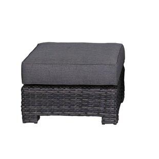 Brayden Studio Donley Ottoman with Cushion