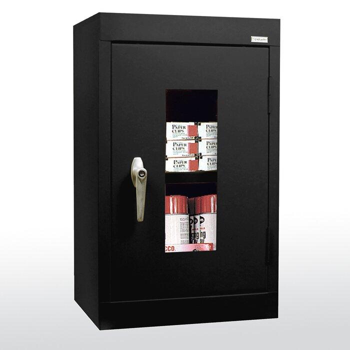 Sandusky Clear View 1 Door Storage Cabinet | Wayfair.ca
