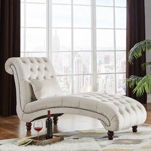 Three Posts Sagebrush Tufted Chaise Lounge