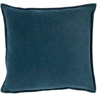 Mann Cotton Throw Pillow