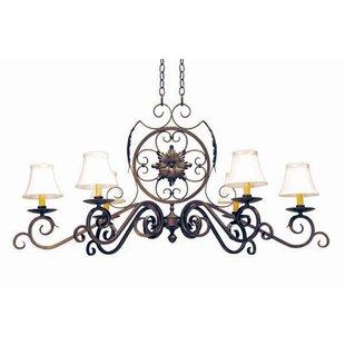 2nd Ave Design Christabel 6-Light Shaded Chandelier