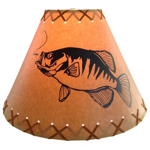 Crappie 9 Paper Empire Lamp Shade