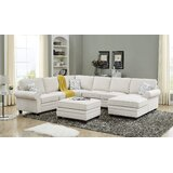 "Tsamis 124"" Left Hand Facing Modular Sectional with Ottoman"
