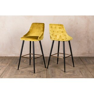 Rosette 66cm Bar Stool (Set Of 2) By Peppermill AntiquesLtd