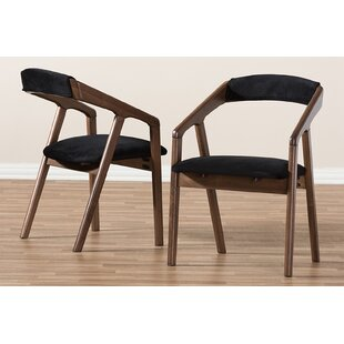 Sepulveda Upholstered Dining Chair (Set of 2) Ivy Bronx