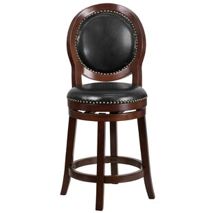 Adonia 26 Swivel Bar Stool DarHome Co