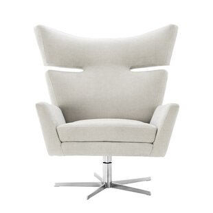 Eduardo Swivel Wingback Chair by Eichholtz
